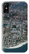 Seagate And Brighton Beach In Brooklyn Aerial Photo IPhone Case