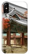 Seonamsa In Autumn IPhone Case