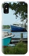 3 Shrimp Boat At Billys IPhone Case