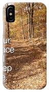 Slippery Slope - Text Full IPhone Case
