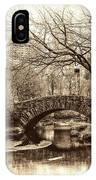 South Bridge - Central Park IPhone Case