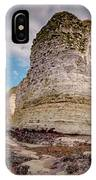 Stack And Chalk Cliff IPhone Case