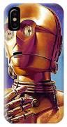 Star Wars Episode 2 Art IPhone Case
