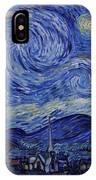 Starry Night IPhone X Case
