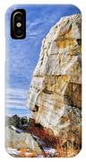 The Big Rock IPhone Case