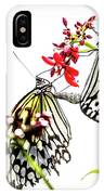 The Extraordinary Rice Paper Butterfly A Series IPhone Case