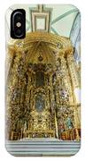 The Historical Mexico City Metropolitan Cathedral IPhone Case