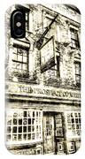 The Prospect Of Whitby Pub London Vintage IPhone Case