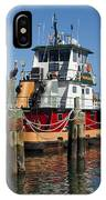 Tug Indian River IPhone Case