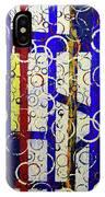 Blue Line IPhone Case