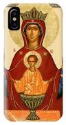 Virgin And Child Icon IPhone Case