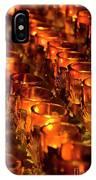 Votive Candles. IPhone Case