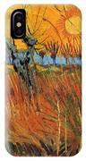 Willows At Sunset IPhone Case