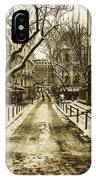 Winter In Paris IPhone Case