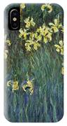 Yellow Irises IPhone Case