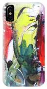 Abstract Landscape Painting IPhone Case