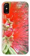 Australia - Red Callistemon Flower IPhone Case