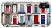 32 Front Doors Horizontal Collage  IPhone Case