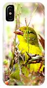 3395 - Tanager IPhone Case