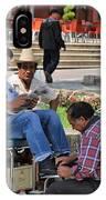 Comitan De Las Flores IPhone Case