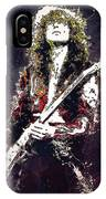 Jimmy Page. Led Zeppelin. IPhone Case