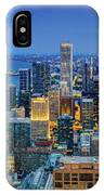 360chicago Rivers Begin To Glow - Skyline Panorama IPhone Case