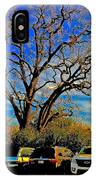 365 012716 Ancient Valley Oak And Parking IPhone Case
