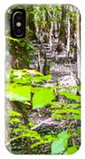 cypress forest and swamp of Congaree National Park in South Caro IPhone Case