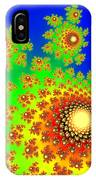 Fractal Floral Pattern IPhone Case