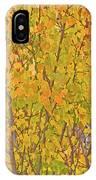 3983 Autumn Pleasure IPhone Case