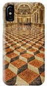 3d Floor Art IPhone Case