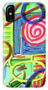 3d Jazz IPhone Case