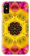 3d Pink Kaleidoscope IPhone Case