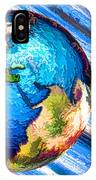 3d Render Of Planet Earth 10 IPhone Case