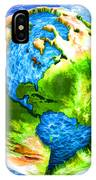 3d Render Of Planet Earth 11 IPhone Case