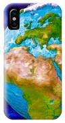 3d Render Of Planet Earth 6 IPhone Case