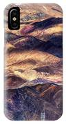 aerial view of Leh ladakh landscape Jammu and Kashmir India IPhone Case