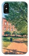 Architecture And Buildings On Streets Of Washington Dc IPhone Case
