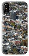 Asheville Aerial Photo IPhone Case