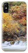 Autumn Foliage In Zion National Park IPhone Case
