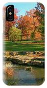 Autumn In Forest Park St Louis Missouri IPhone Case