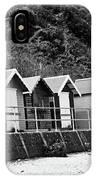 Beach Huts IPhone Case