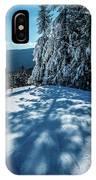 Beautiful Nature And Scenery Around Snowshoe Ski Resort In Cass  IPhone Case