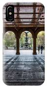 Bethesda Terrace IPhone Case