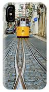 Bica Funicular, Lisbon, Portugal IPhone Case