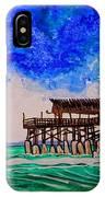 Cocoa Beach Pier IPhone Case