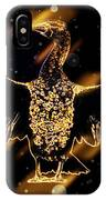 Cormorant Dries Its Wings IPhone Case