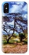 Desertic Tree IPhone Case