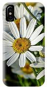 Flower Portrait IPhone Case