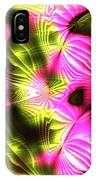 Fractal Modern Art Seamless Generated Texture IPhone Case